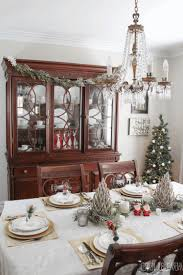 christmas dining table centerpiece ideas mid century modern