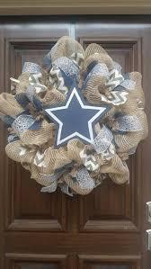 Dallas Cowboys Home Decor Best 25 Cowboys Wreath Ideas On Pinterest Dallas Cowboys Wreath