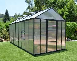 Palram Greenhouse Palram Arcadia 12 X 16 Carport With Polycarbonate Roof Sheds Com