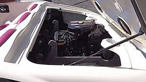 1996 sea ray sea rayder f 16 mercury sport jet 120hp engine test