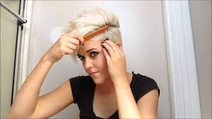 how to style really short hair youtube