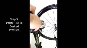 Zefal Bike Pump Instructions by How To Use A Serfas Floor Pump Simple Valve Head Youtube