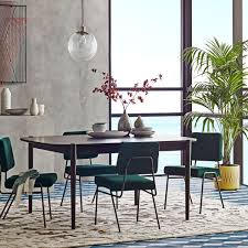 mid century expandable dining table perfect west elm kitchen table ellipse expandable dining canada