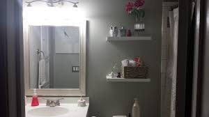 latest in bathroom design diy bathroom remodel husband wife weeks the completed renovation
