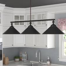3 light kitchen island pendant kitchen island pendants styles for your home joss main
