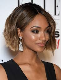 relaxed short bob hairstyle black women relaxed hair with highlights blackhairlab com