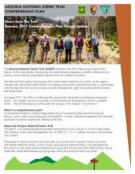 arizona national scenic trail land u0026 resources management