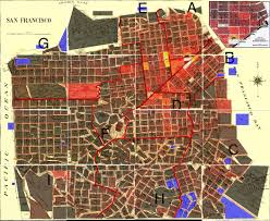 San Francisco Districts Map by Crime Map San Francisco Michigan Map