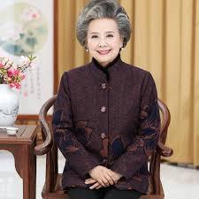 clothing for elderly women s winter jacket 60 70 years 80 elderly clothes plus velvet