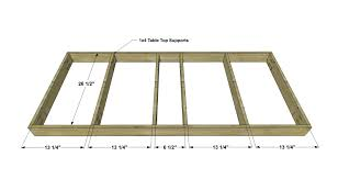 Kreg Jig Table Top Free Diy Furniture Plans How To Build A Low Rise Bohemian Table