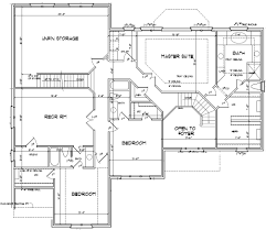 house plan for 48 feet by 58 plot size 309 square yards 420201235