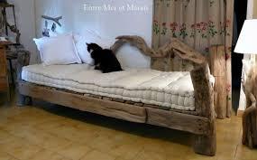 canapé en bois canapés en bois flotté entre mer et marais créations en bois flotté