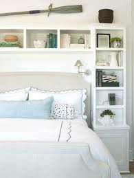 Daybed With Bookcase Headboard Bookcase Headboard With Upholstered Bed Bedroom Beach Style And