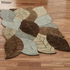 Leaf Area Rug Seasons Area Rugs