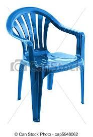 chaise bleue chaise bleue plastique chaise bleue fond blanc plastique photo