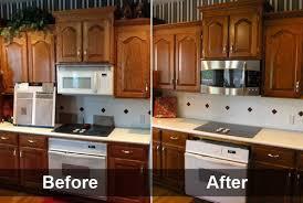 Kitchen Cabinets Restaining Restaining Kitchen Cabinets Lighter Fanti