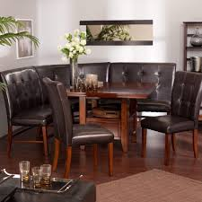 Square Dining Room Table For 4 Breakfast Nook Corner Dining Set Salem 4 Piece Breakfast Nook