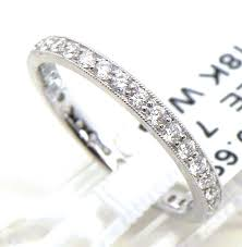 18k white gold wedding band 18k white gold diamonds eternity wedding band bright jewelers