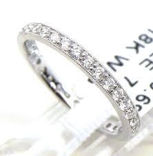 18k white gold wedding band 18k white gold diamonds eternity wedding band bright jewelers