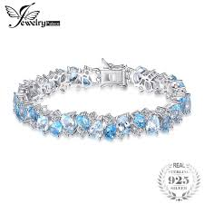 sterling tennis bracelet images Jewelrypalace luxury 23ct multi london blue topaz link tennis jpg
