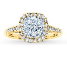 round setting rings images Diamond ring setting 1 2 ct tw round cut 14k yellow gold jared jpg