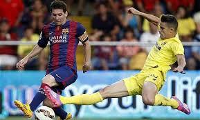 Lionel Messi Leg Liga Bbva Lionel Messi Injures Leg In Barcelona Win Soccer