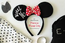 personalized minnie mouse ears inspiration made simple