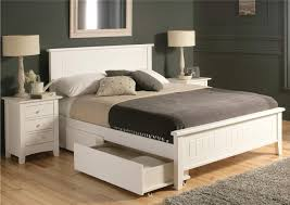 wooden base bed furniture un wooden single bed with storage and book 12