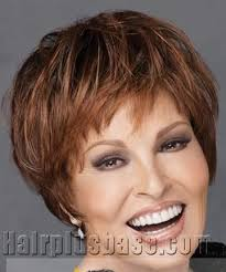raquel welch short hairstyles capless short human hair wig by raquel welch
