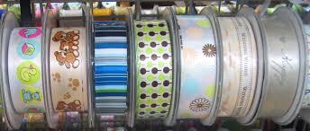 buy ribbon online 25mm printed satin ribbon print ribbon maycraft my clover