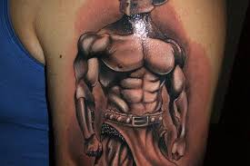 cool gambling tattoo designs on shoulder for men tattoo ideas