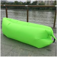 china inflatable air sofa lazy sleeping lounge bag hammock and