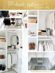 Diy Build Shelves In Closet by Diy Custom Closet Shelving For Deep Closets Home Made By Carmona
