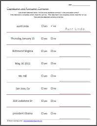 punctuation worksheets 3rd grade worksheets