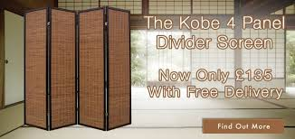 Arthouse Room Divider Room Dividers Shoji U0026 Oriental Screens Trusted Uk Shopping