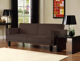 Microfiber Living Room Set Modern Two Tone Gray Black Low Profile Chaise Living Room