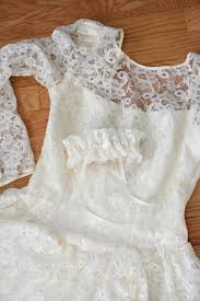 custom wedding dress bridal garter made from mother u0027s wedding dress