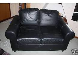 Ikea 2 Seater Leather Sofa Fothult 2 Seater Black Leather Sofa Can Deliver 175 Glasgow
