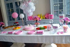 pinterest table layout a bow themed first birthday party