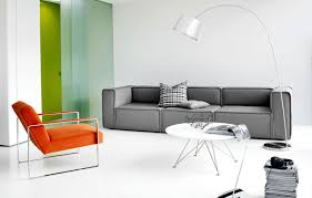 bo concept canapé pop of orange i n t e r i o r white coffee tables