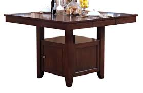Dining Room Cart New Classic Furniture Kaylee Counter Table In Tudor Brown 45 101