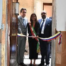 consolato colombiano galleria fotografica la presidente ermelinda damiano inaugura il