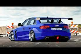 2009 audi a4 tuning a4 dtm by roof01 on deviantart