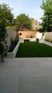 Paved Garden Design Ideas Modern White Garden Design Ideas Balham And Clapham