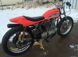 lightly raced u201d u2013 1980 harley davidson xr750 bike urious