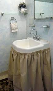 Bathroom Craft Ideas by Best 25 Bathroom Sink Skirt Ideas On Pinterest Sink Skirt