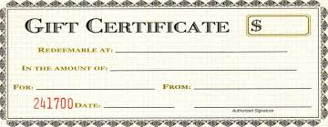 blank gift certificate template for word blank gift certificate template for word