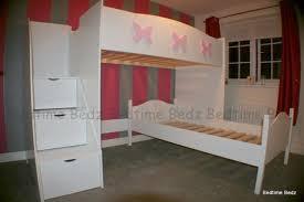 L Shaped Bunk Bed Without Storage Bedtime Bedz - L shape bunk bed