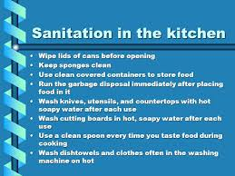 safety and sanitation applying life skills chapter 27 notes page