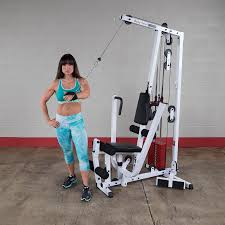 amazon com body solid exm1500s single stack home gym sports